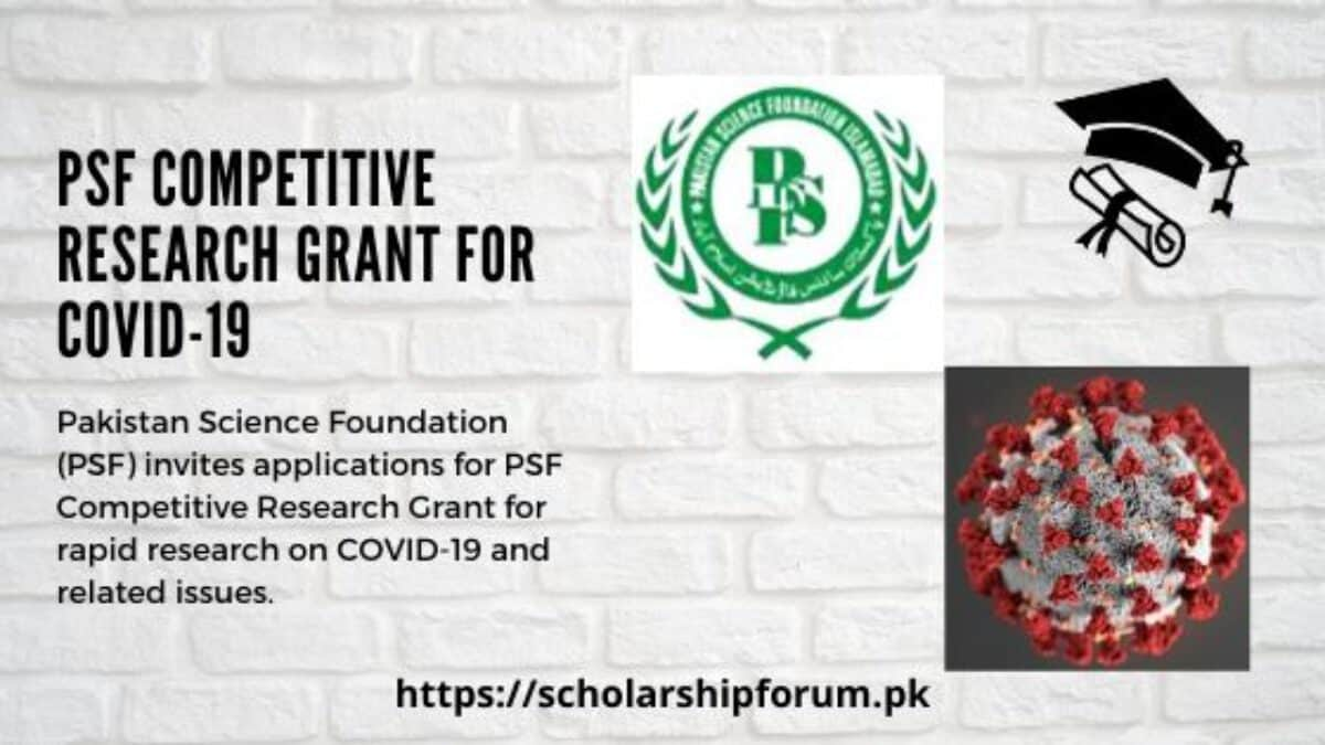 Pakistan Science Foundation (PSF) Research Support Programme